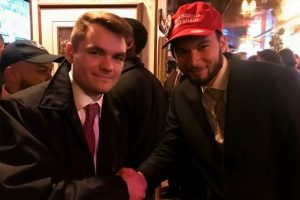 Christian Secor with Nick Fuentes