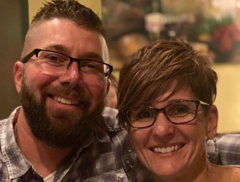Julie Eberly with Ryan Eberly