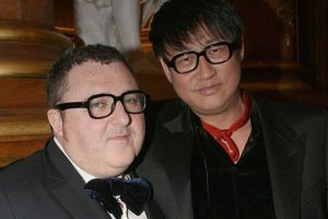 Alber Elbaz with Alex Koo